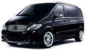 Transfer to Usti nad Labem from Prague in new Mercedes Vito