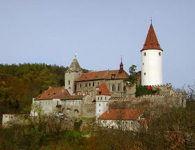 Křivoklát / Krivoklat castle in Czech Republic