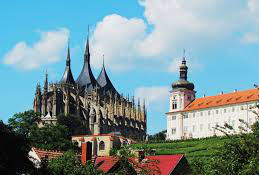 Barbora - hurch & monastery in Kutna Hora, Czech Republic
