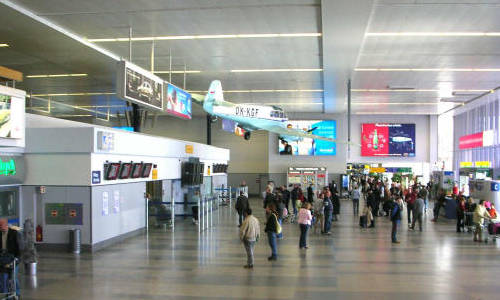 Prague Airport Vaclav Havel Terminal 1