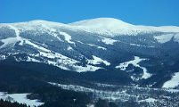 ski resort Rokytnice nad Jizerou Giant Mountains (Krkonoše) view